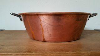 Kupfer Schüssel Marmeladenschüssel Patisserie Aus France (nr.  2) Bild