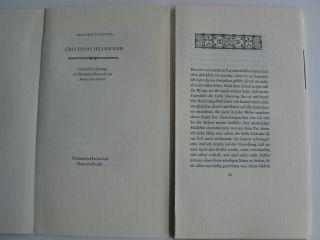 Giacomo Casanova – Cristinas Heimkehr Rohbogen Bild