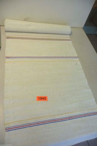 Nr.  1945.  Rollen Altes Leinen Bauernleinen Linen 2,  8 M X 48 Cm Bild