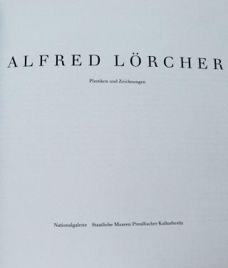 Lörcher,  Alfred.  Plastiken Und Zeichnungen.  1988 Bild