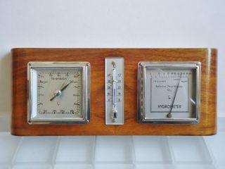 Lufft Wetterstation Nr.  701 Barometer Thermometer Hygrometer Bild