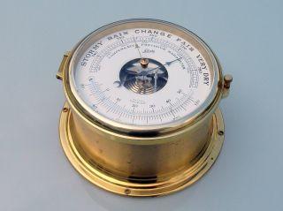 1 Schatz Schiffsbarometer Compensated Precision Barometer Marine Bild