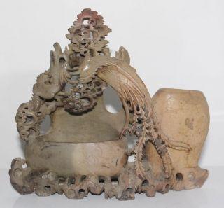 Seltenheit - Italienische Steinarbeit 19.  Jhd.  Blumenbehälter - Top Angebot Bild