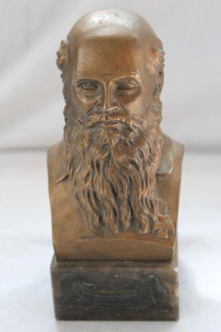 Alte Bronze ? BÜste Figur Skulptur Gustav Schierz 1915 Steinigswolnsdorf 1940 Bild