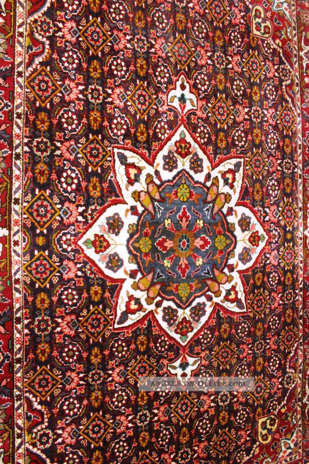 handgekn pfter rosen biedjar herati orient teppich rug. Black Bedroom Furniture Sets. Home Design Ideas