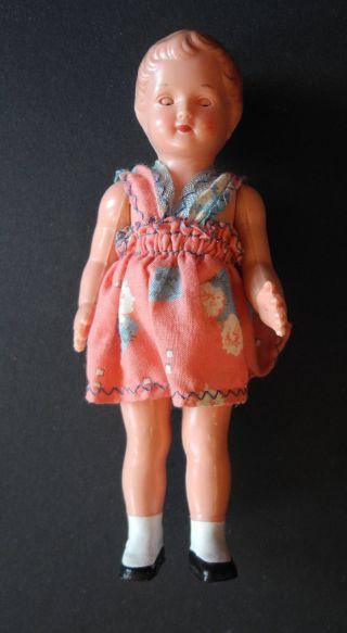 Antike Schildkröt Puppe
