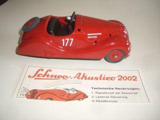 Z 215/ Schuco Bmw Akustico Auto / Examico Karosse / Noch / Unf. Bild