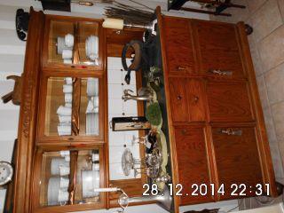 Buffetschrank Antik Küchenschrank Küchenbuffet Alt Bild