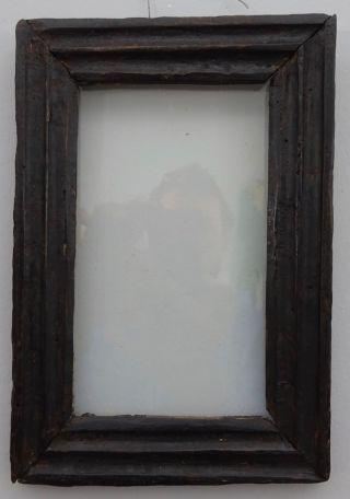 Barockrahmen Hinterglas Profilrahmen 1.  Hälfte 18.  Jh.  Handgehobelt Bild