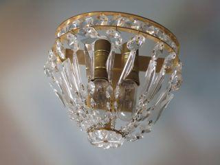 Exklusive Wandlampe Von Christoph Palme - Ca.  60er Jahre Bild