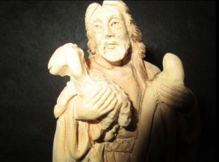 Jesus - Der Gute Hirte - Olivenholz,  Figur,  Holz,  Geschnitzt In Bethlehem, Bild