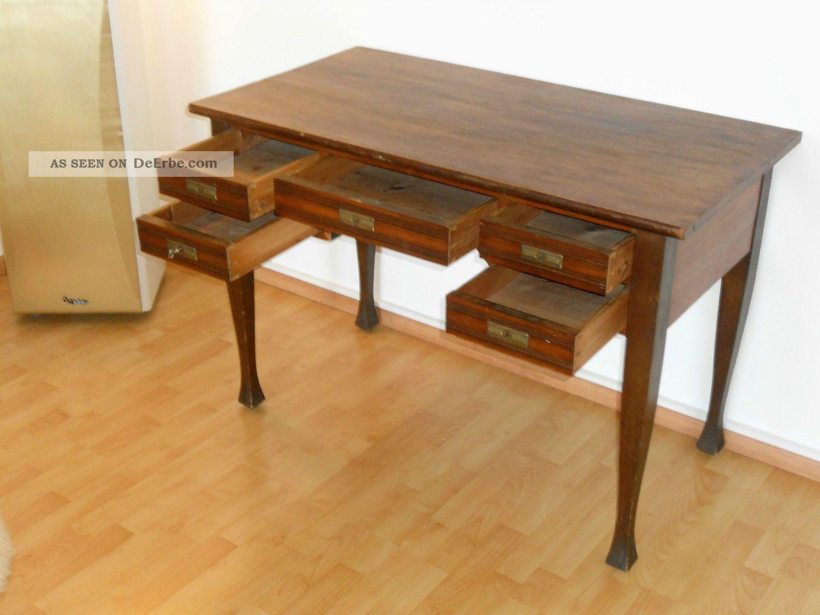 Schreibtisch sekretar antik for Buromobel hochwertig