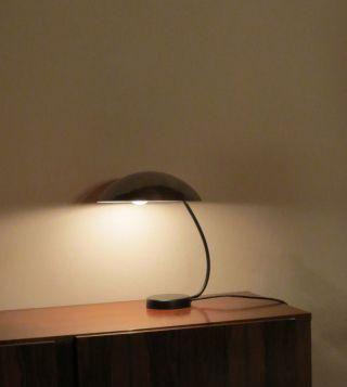 Chrom Lampe Tisch Leuchte Tischleuchte Schreibtischlampe Lampe 50er Jahre Bild