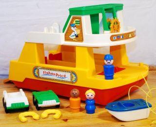 Fisher Price I 932 Ferry Boat I 70er I Play Family I Vintage I Exzellent Fähre Bild
