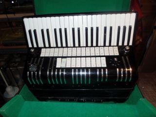Alte Hohner Akkordeon 120 Bass Electravox,  Koffer Bastlerument Ersazteile Bild