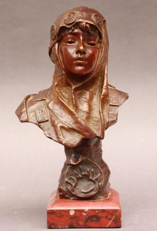 Emmanuel Villanis Dalila Orientalismus Frankreich Societe Des Bronze De Paris Bild