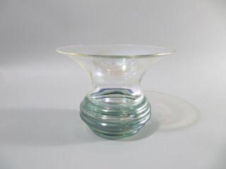 Wunderbare Irisierende Jugendstil Vase Glasvase Bild