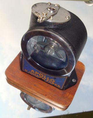 Apollo Anspitzer Spitzmaschine Johann Faber Vintage German Pencil Sharpener Bild