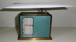 Alte Briefwaage Bild