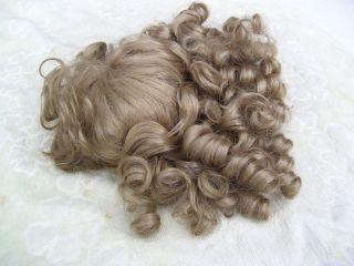 Alte Puppenteile Blondelockige Lang Haar Perücke Vintage Doll Hair Wig 65cm Girl Bild