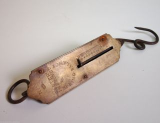 Alte Zugwaage Salters Improved No.  2 England Taschen Waage Feder Sackwaage Gepäck Bild