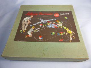 Schuco Varianto 3051 Kreuzung Mit Prospekt In Der Originalen Box - 1950er Jahre Bild