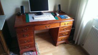 Antiker Schreibtisch / Antik Tisch / Sehr Gut Bild