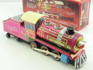 Mf 170 Dolls ' Train Dampflok Licht Ok Blechspielzeug China Ovp Sg 1412 - 06 - 40 Bild