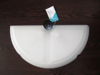Tre Ci Luce Designer Lampe Wandleuchte Milchglas Weiß Halbmond Lamp Memphis - ära Bild