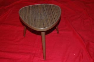 Blumenhocker 50er - / 60er - Jahre Nierentisch - Epoche Hocker Tischchen 1 Bild
