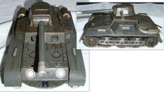 Alter Gescha Patent Panzer 65 - 6.  19,  5 X 11 X 9,  3 Cm Ohne Schlüssel. Bild