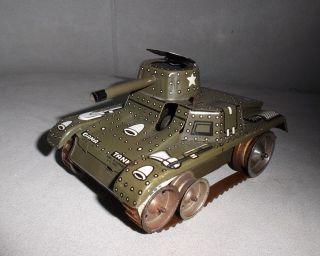 Gama Blechpanzer 60er Jahre Bild