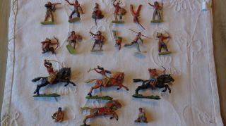Elastolin Wild - West Figuren Indianer Bild