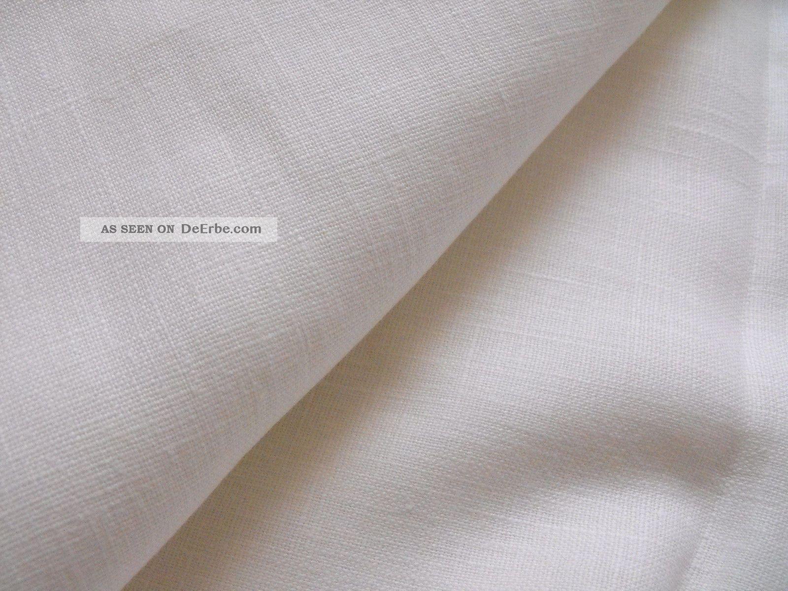100 leinen stoff rest wei bauernleinen b 210cm l 200 cm. Black Bedroom Furniture Sets. Home Design Ideas