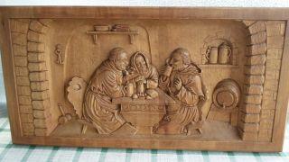 Holzschnitzerei Bild