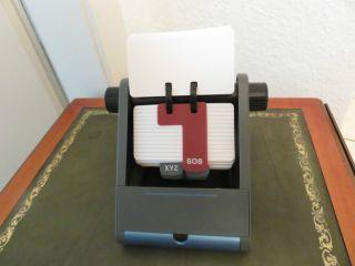 Ungenutztes Telefon Register,  Rollkartei,  älter,  Stil,  Sos Ablage.  A - Z Register Bild