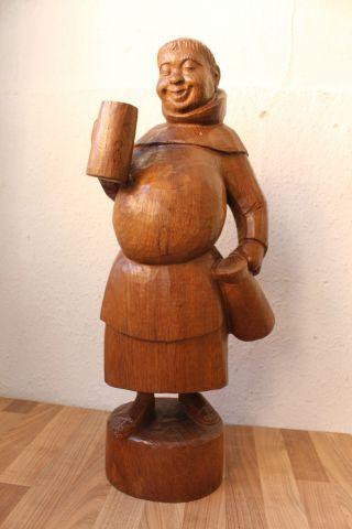 (art: H - 1037) Schöne Holzfigur