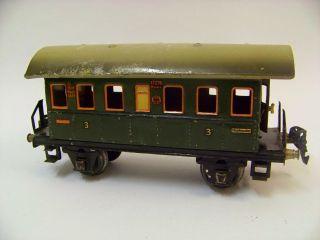 2 Stück Märklin Spur 0 Personenwagen 1727/0 Baujahr Zwischen 1933 Und 1939 Bild