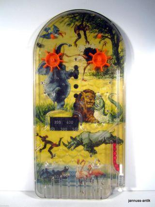 Alter Flipper Tischflipper 60er Pinball Seltenes Sammlerstück Bild