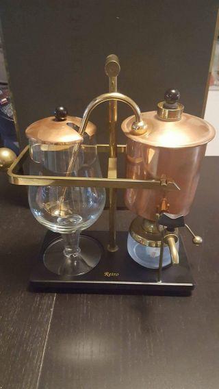 Retro Coffeemaker Belgium Bild