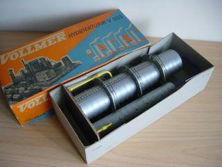 Vollmer 5016 H0 Hydrierturm Fertigmodell 1950er Ovp Bild