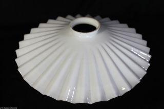 Jugendstil Röckchenschirm Lampenschirm Lampenglas Ersatzglas - Ø 26,  5 Cm Bild