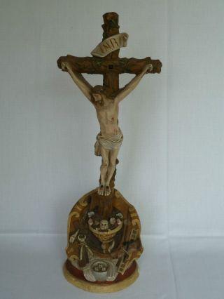 Altes Kreuz Kruzifix Christuskreuz Standkreuz Bild