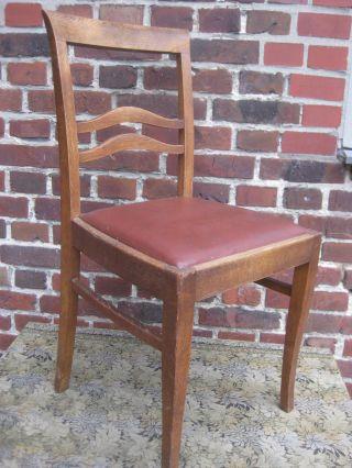 Alte Holz - Stuhl Kneipenstuhl Bistro Kaffeehaus 40er 50er Bild