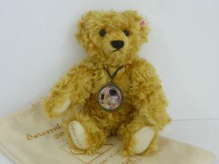 Steiff Österreich Bär Teddy 2001 Gustav Klimt Limitiert Nr.  687/1500 Bild