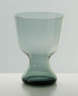 Wilhelm Wagenfeld Wmf Vase 61er Serie Wv 476 (die Große) Turmalin 60er Jahre Bild