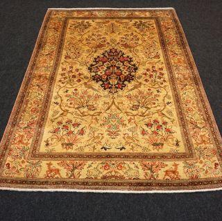 Orient Teppich Seide 157 X 103 Cm Seidenteppich Perserteppich Silk Carpet Rug Bild