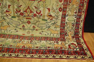 Antiker Teppich SammlerstÜck Ca: 225x130cm Antico Tappeto Antique Rug Bild