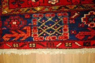 Antiker Teppich Heriz Ca: 340x100cm Antico Tappeto Antique Rug Bild