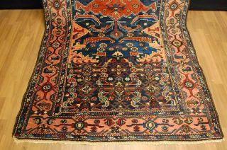 Antiker Teppich Malayer Ca: 290x135cm Antico Tappeto Antique Rug Bild